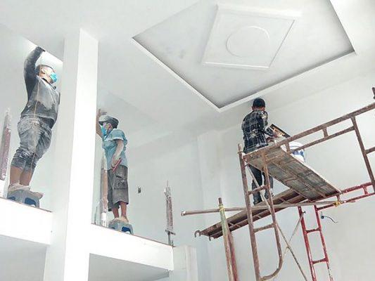 Thi công trần thạch cao Hà Nội