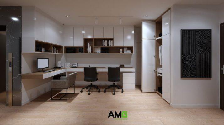 Thiết kế nội thất phòng học - phòng làm việc