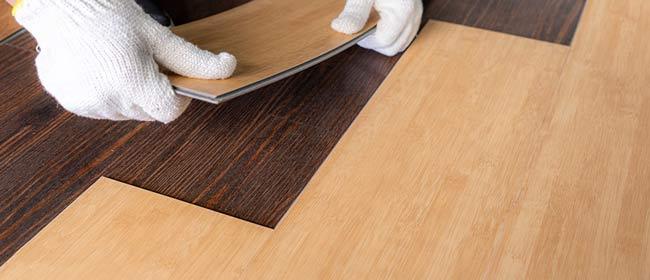 Đặt tấm sàn nhựa giả gỗ